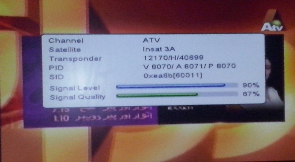 16 TV Channels Free to air From SES8 Satellite, Watch Pictures