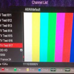 Ku-Band Satellites in Indian coverage
